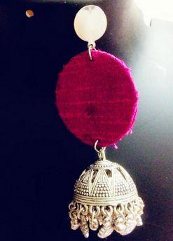 Handmade Jhumka Earrings 03