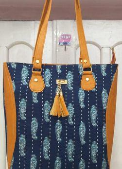 Printed Fabric Ladies Bags