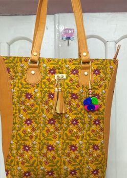Printed Fabric Tote Bags