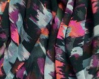 Printed Polyester Georgette Fabric