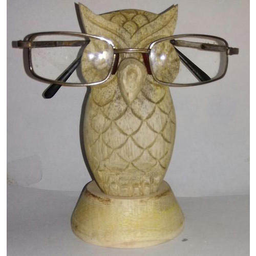 Wooden Carved Spectacle Stand