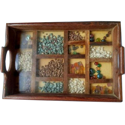 Wooden Partition Tray