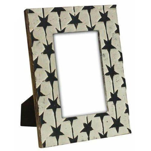 Wooden Star Design Photo Frame