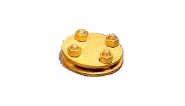 Brass Test Clamp Plate