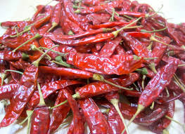 Dried Light Red Chilli