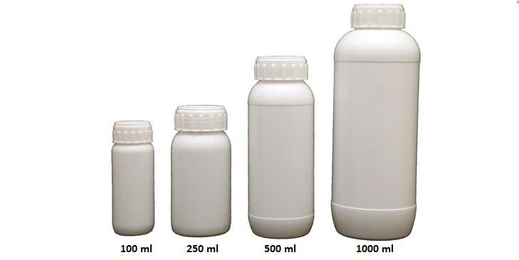 Pesticides Hdpe Bottle