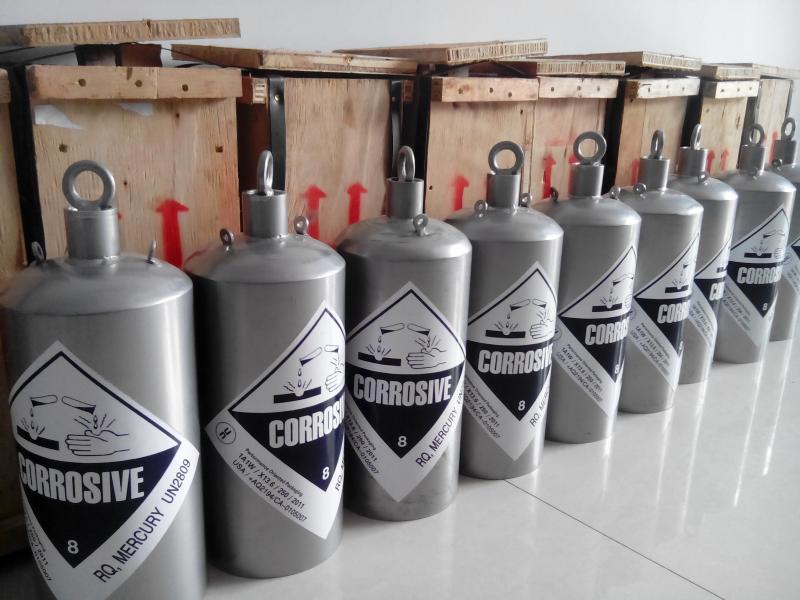 Silver Liquid Mercury for sale