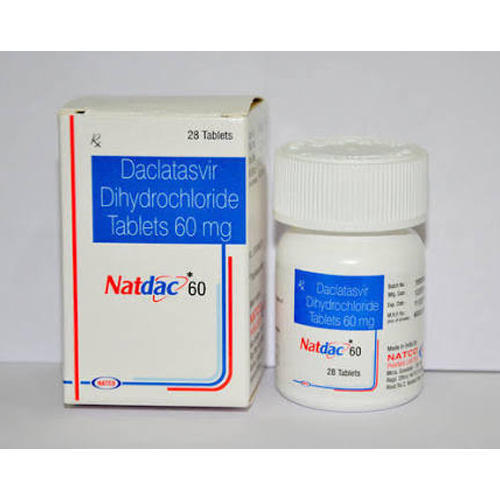 Natdac 60 Mg Tablets