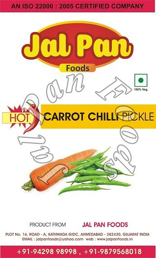 Hot Carrot Chili Pickle