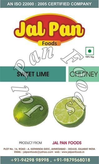 Sweet Lime Chutney