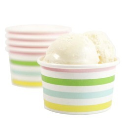 Paper Ice Cream Cups