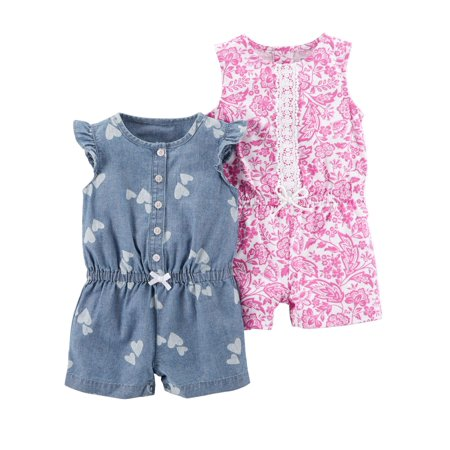 Kids Printed Jumpsuits