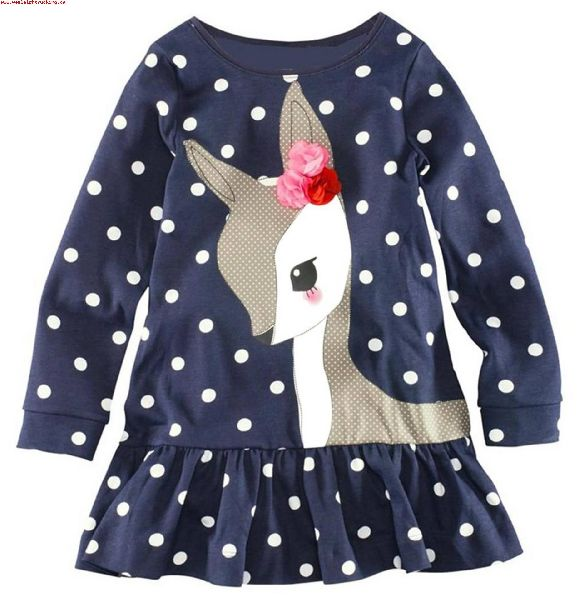Girls Stylish Frock 04