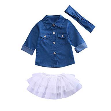 Girls Top & Skirt Set 01