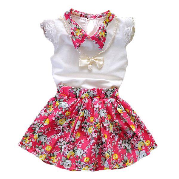 Girls Top & Skirt Set 02