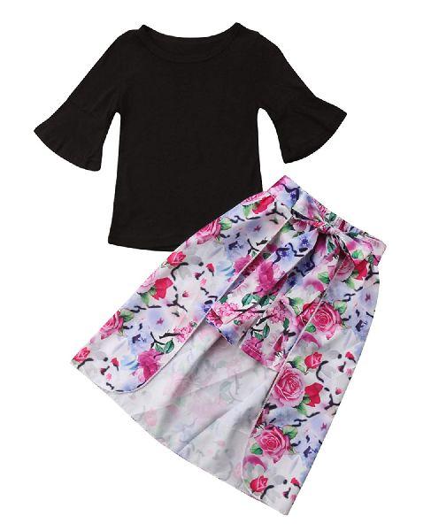 Girls Top & Skirt Set 04
