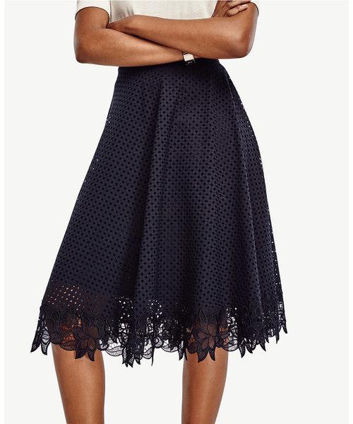 Ladies Black Short Skirt