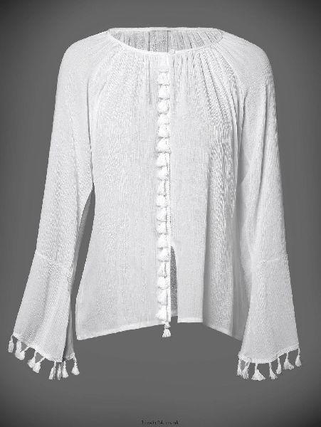 Ladies Full Sleeve Tops