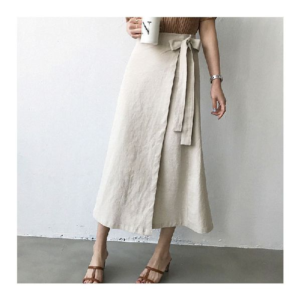 Ladies Plain Long Skirts