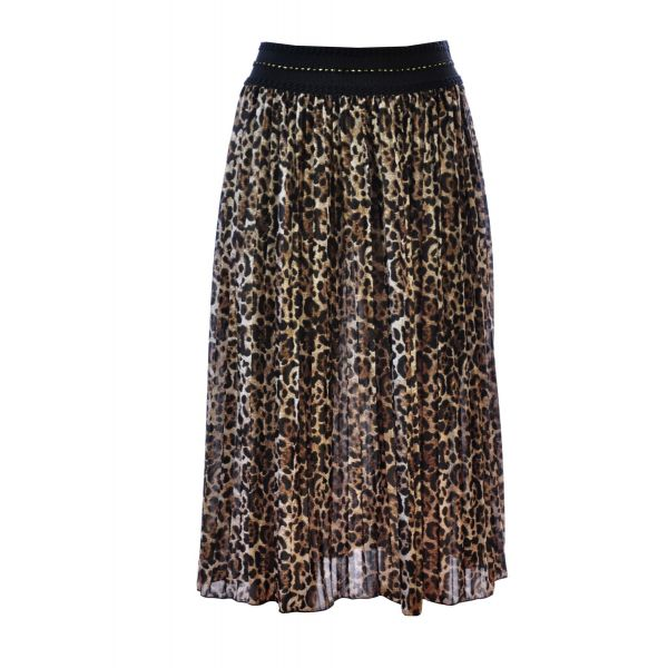 Ladies Printed Long Skirt 02