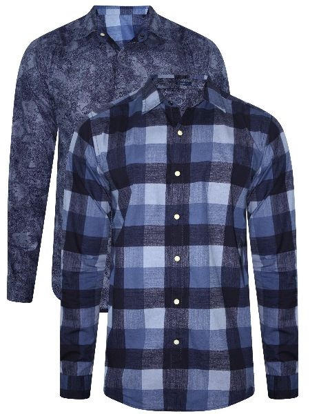 Mens Casual Full Sleeve Shirt 02