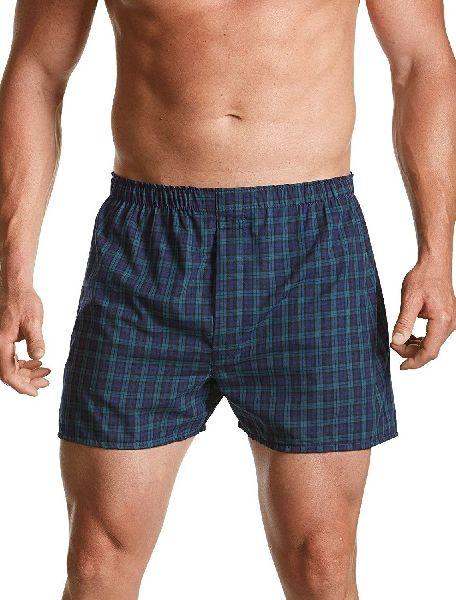 Mens Checkered Boxer Shorts