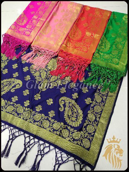 Minali VOL-2 Banarasi Silk Dupatta