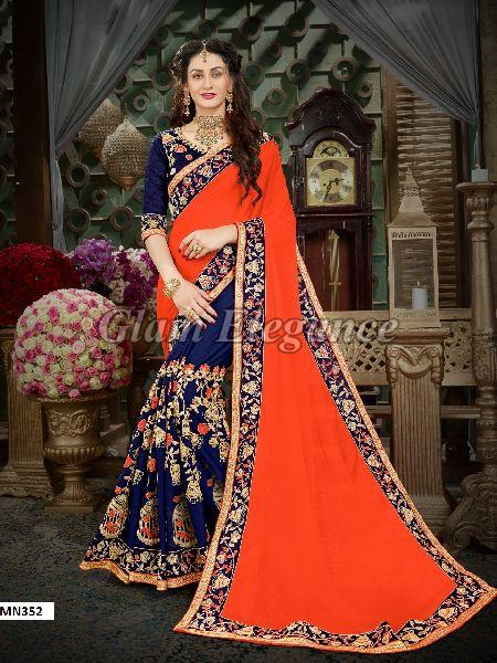 MN352 Manohari Roohi Hit Colors VOL-3 Designer Sarees