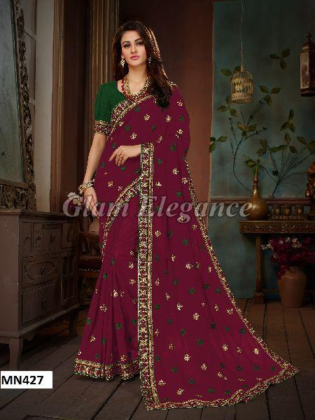 MN427 Manohari Roohi Hit Colors VOL-4 Designer Sarees