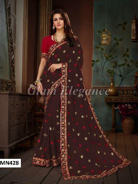 MN428 Manohari Roohi Hit Colors VOL-4 Designer Sarees