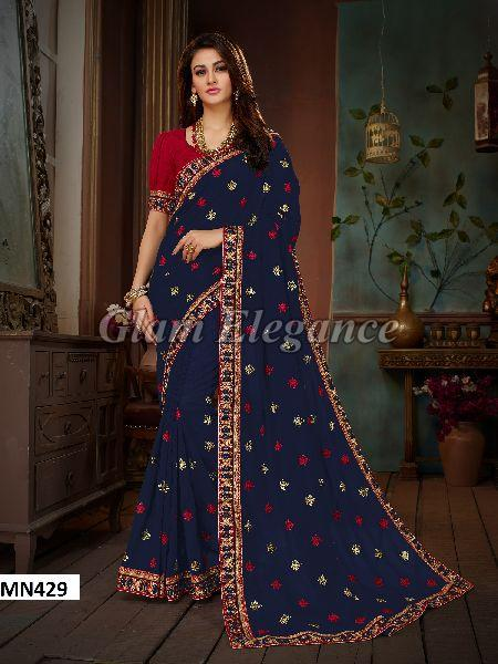 MN429 Manohari Roohi Hit Colors VOL-4 Designer Sarees