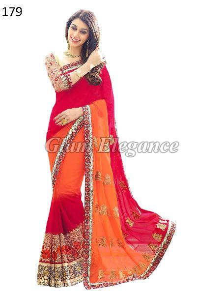 OF179 Rubyza-4 Georegette Sarees