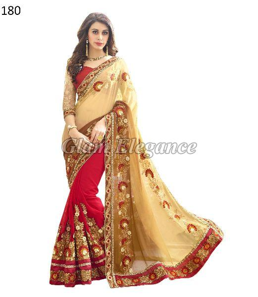 OF180 Rubyza-4 Georegette Sarees