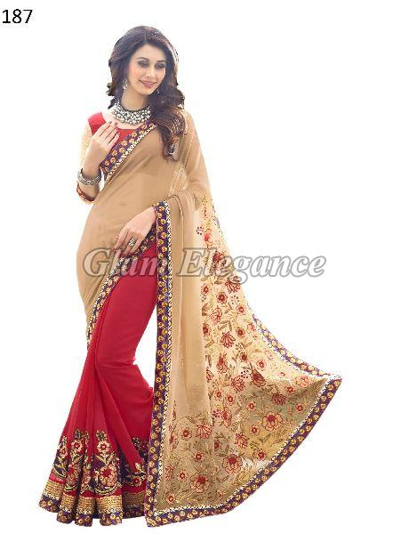 OF187 Rubyza-4 Georegette Sarees