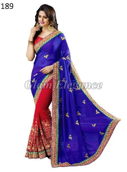 OF189 Rubyza-4 Georegette Sarees