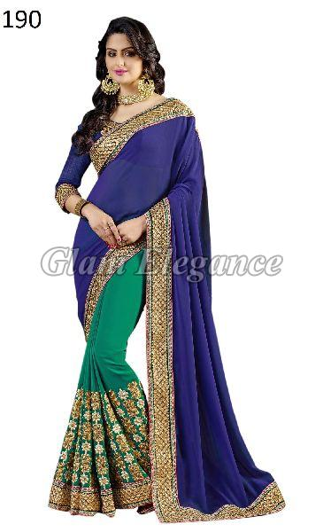 OF190 Rubyza-4 Georegette Sarees