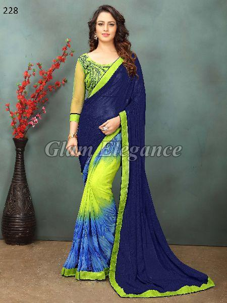 OF228_1 Rubyza-2 Georegette Sarees