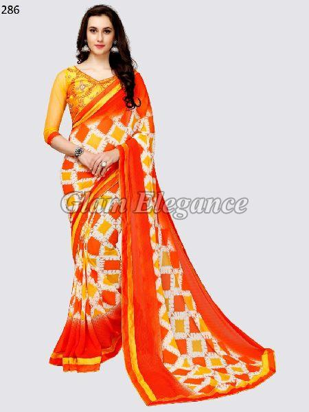 OF286_1 Rubyza-3 Georegette Sarees