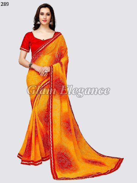OF289_1 Rubyza-3 Georegette Sarees