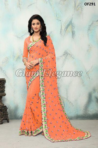 OF291_2 Rubyza Hit Color Designer Sarees