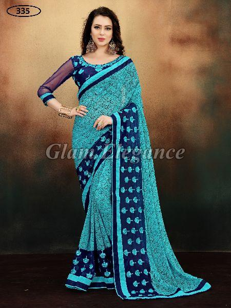 OF335 Rubyza-9 Georegette Sarees