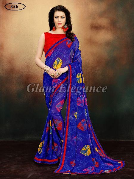 OF336 Rubyza-9 Georegette Sarees