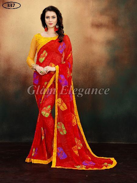 OF337 Rubyza-9 Georegette Sarees