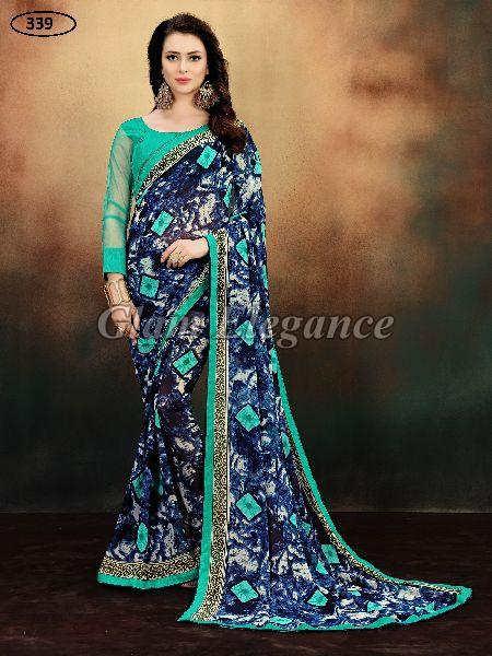 OF339 Rubyza-9 Georegette Sarees