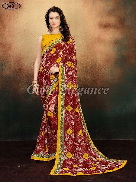 OF340 Rubyza-9 Georegette Sarees