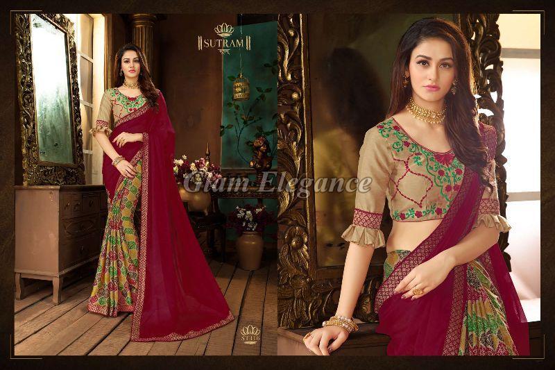 ST416 Sutram Zeeya Vol-2 Designer Sarees