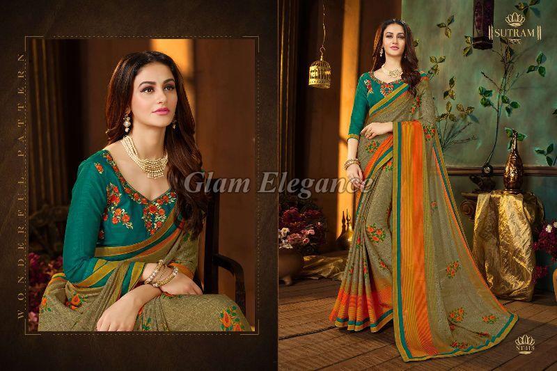 ST418 Sutram Zeeya Vol-2 Designer Sarees