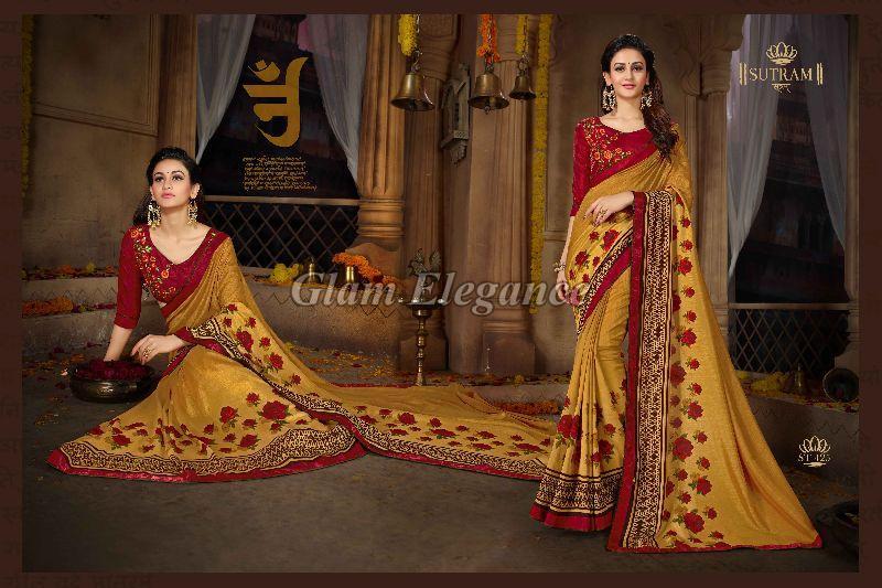 ST425 Sutram Zeeya Vol-3 Designer Sarees