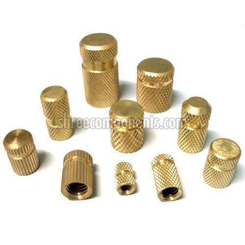 Precision Brass Cover Insert