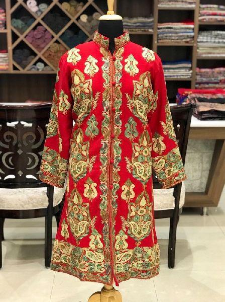 Aari Work Silk Jacket